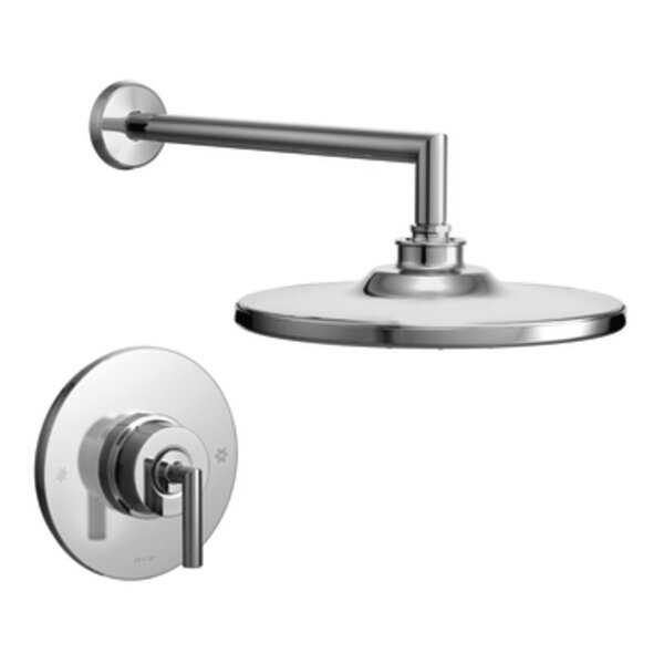 Arris Pressure Balance Shower Faucet Trim with Lever Handle by Moen