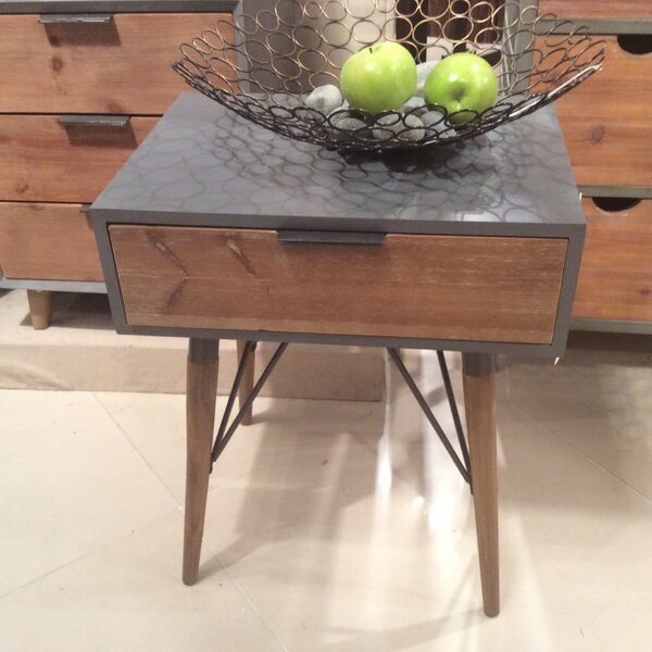 Stella End Table by Modern Rustic Interiors