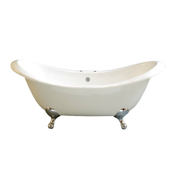 Alpine 72 x 32 Soaking Bathtub by Strom Plumbing by Sign of the Crab