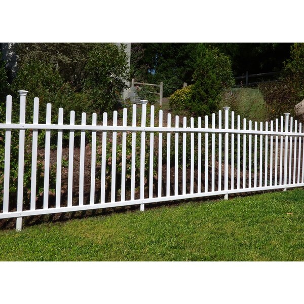 3.5 ft. H x 7.5 ft. W Manchester Semi-Permanent Fence Panel (Set of 2) by Zippity Outdoor Products