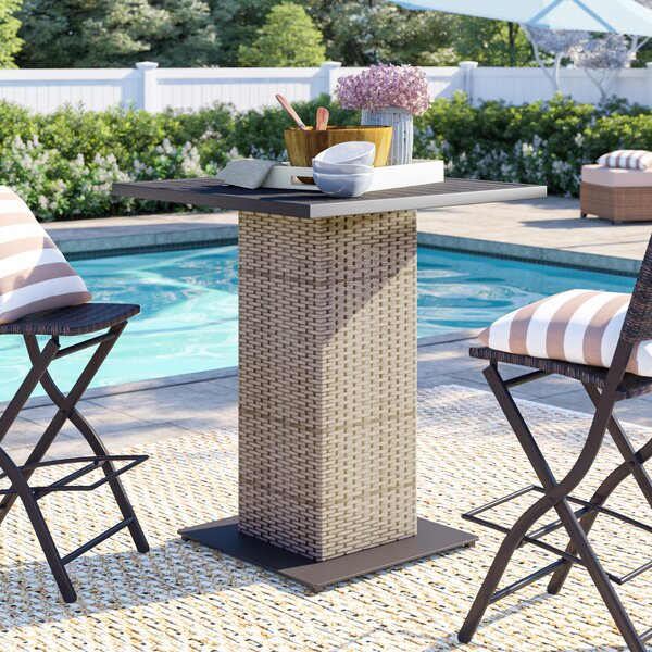 Rochford Bar Table by Sol 72 Outdoor Sol 72 Outdoor