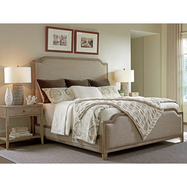 Cypress Point Upholstered Panel Bed by Tommy Bahama Home
