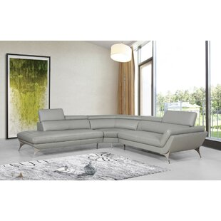 Collison Leather Sectional