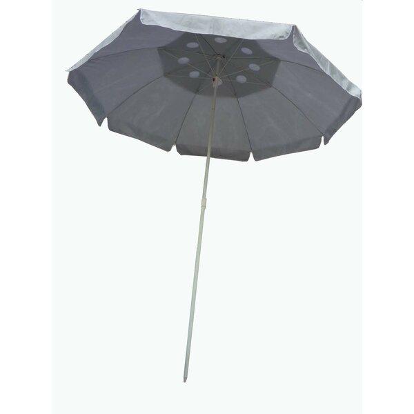 6' Beach Umbrella by Zenport