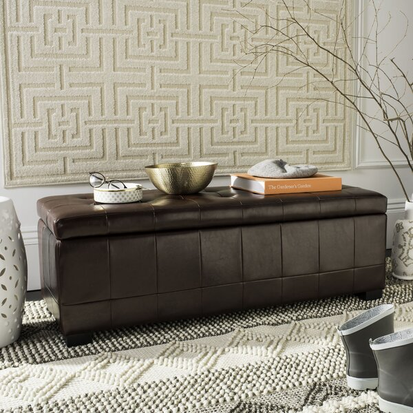 Maiden Upholstered Flip Top Storage Bench By Brayden Studio