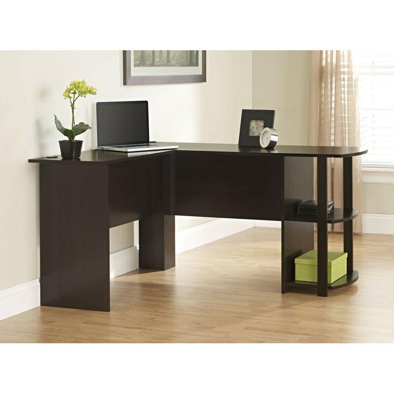 Andover Mills Salina L-Shape Corner Desk & Reviews