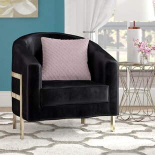 Zetta Barrel Chair By Everly Quinn