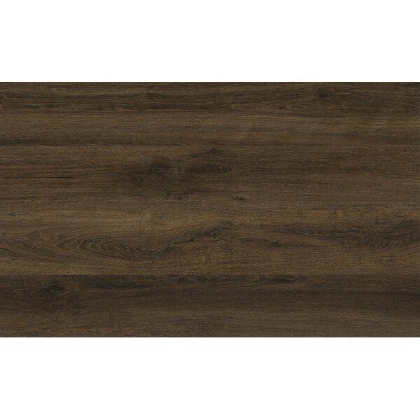 Triversa 0.16 x 2.5 x 94 Oak Hard Surface Reducer in Rustic Oak Brown Glaze (Set of 5) by Congoleum
