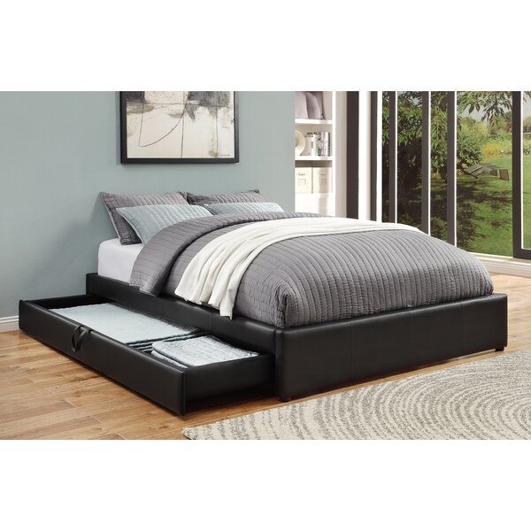 Morningside Upholstered Storage Platform Bed by Ebern Designs