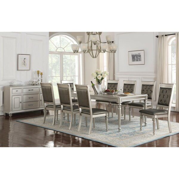 Donatella Traditional Dining Table by House of Hampton