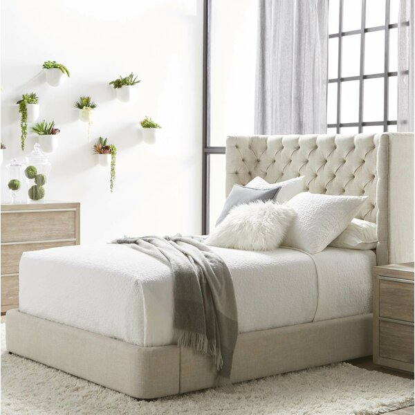 Fitzgibbon Upholstered Platform Bed by Everly Quinn