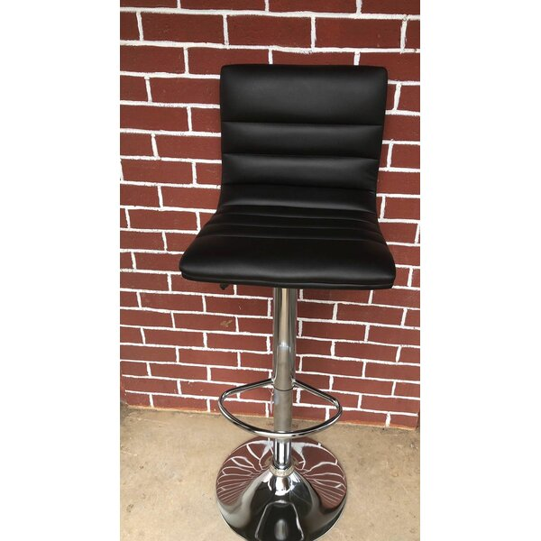Chantry Adjustable Height Swivel Bar Stool by Orren Ellis Orren Ellis