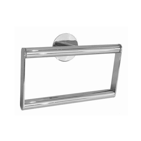 Time Wall Mounted Towel Ring by Smedbo