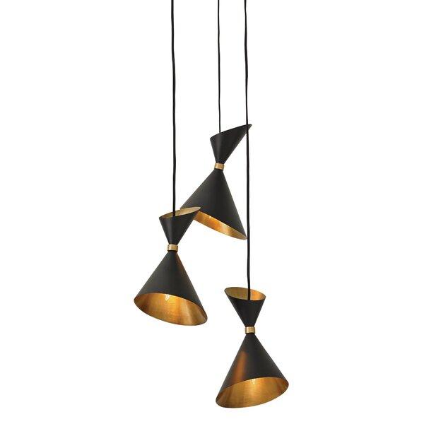 Cone Cascade Pendant by DwellStudio