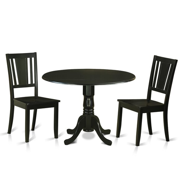 Sosa 3 Piece Dining Set by Charlton Home Charlton Home