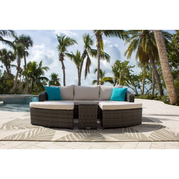 Saliba Daybed with Sunbrella Cushions by Latitude Run
