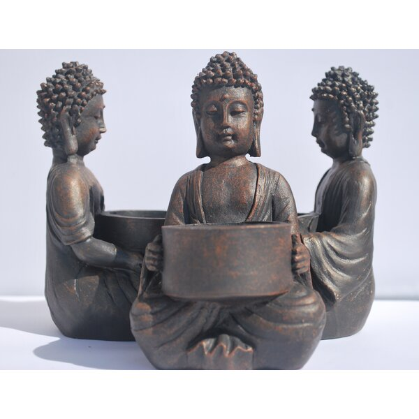 Global Baby Buddha Polyresin Tealight Holder (Set of 6) by Whole House Worlds