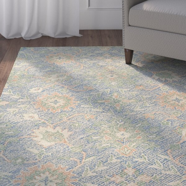 Fairhaven Handmade Blue Indoor/Outdoor Area Rug by Charlton Home