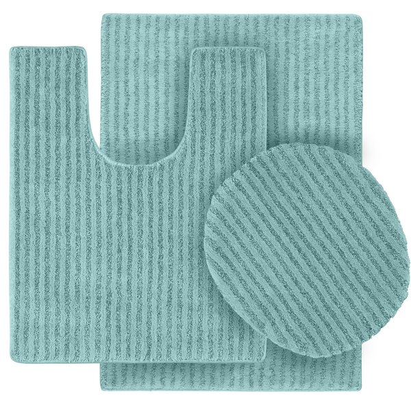Breyanna  Bath Rug (Set of 3) by Wildon Home ®