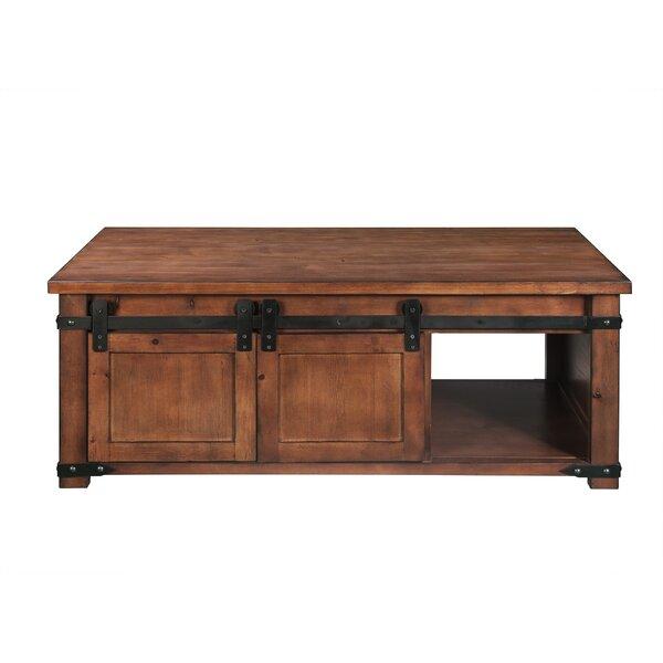 Torbin Floor Shelf Coffee Table With Storage By Gracie Oaks