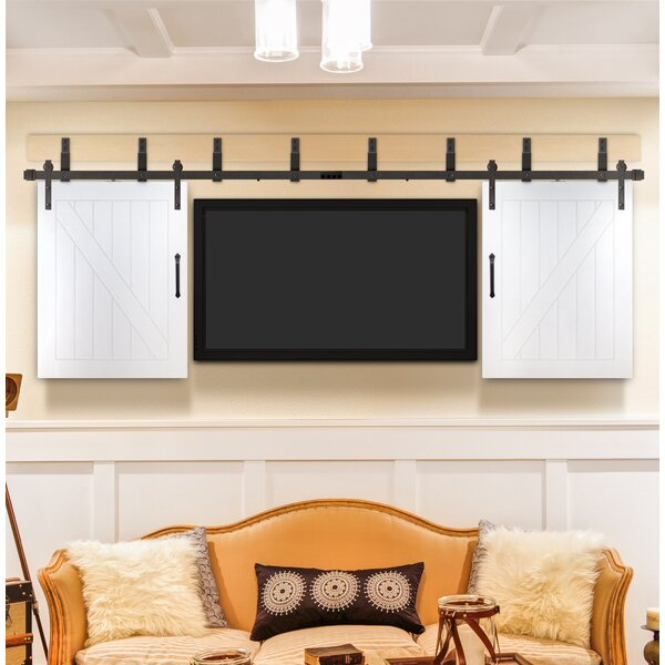 Cottage Prefinished TV Interior Barn Door by Creative Entryways