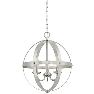 Orb Chandelier Nickel