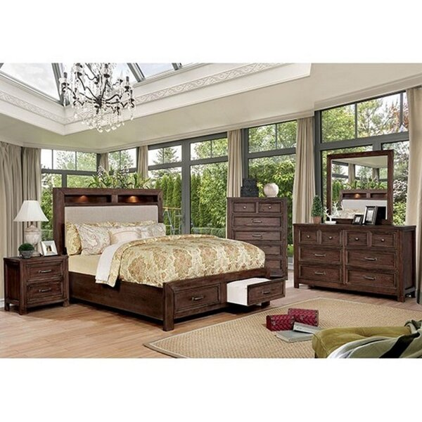 Caitlyn Queen 4 Piece Bedroom Set by Rosalind Wheeler