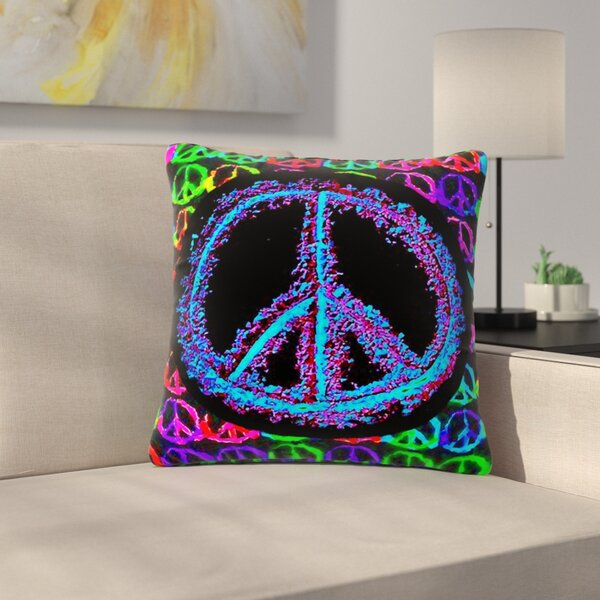 Anne LaBrie Heavenly Peace Digital Outdoor Throw Pillow by East Urban Home