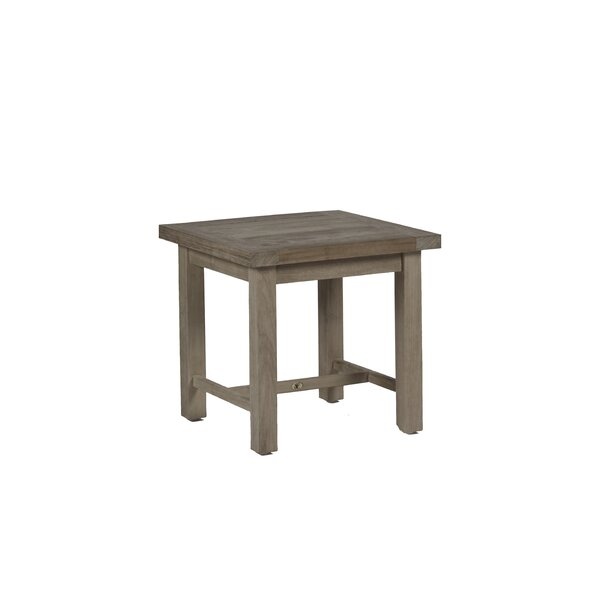Club Solid Wood Side Table by Summer Classics