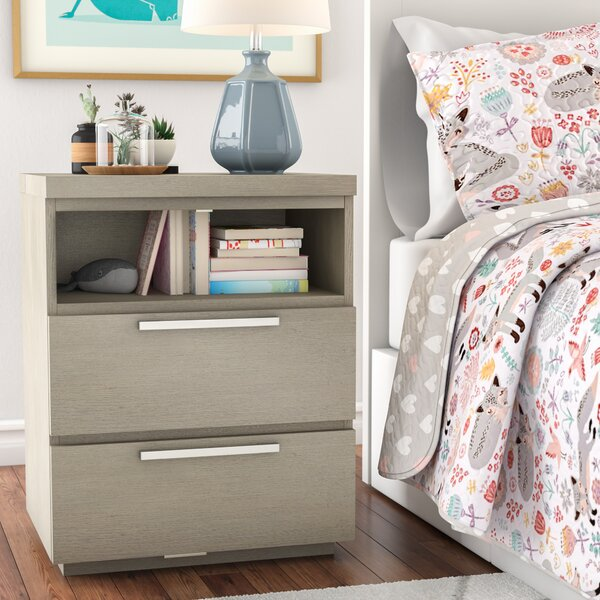 Fernanda 2 Drawer Nightstand by Mack & Milo