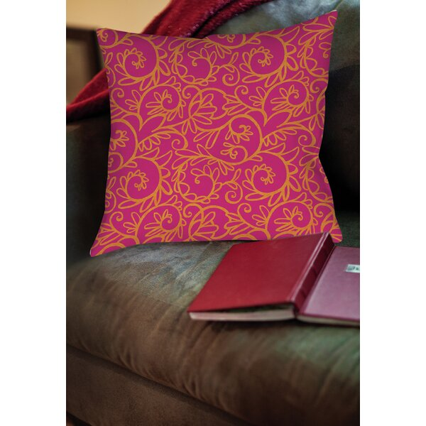 Sandefur Pattern Printed Throw Pillow by Latitude Run