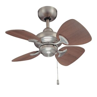 Reviews 24 Leddy 4-Blade Ceiling Fan with Remote By Winston Porter