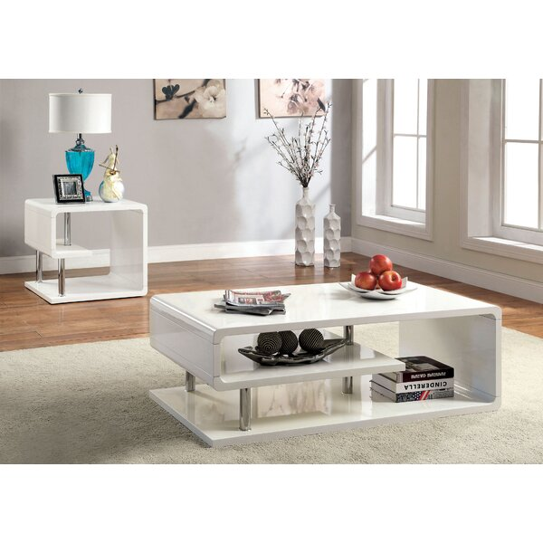 Luther 2 Piece Coffee Table Set by Wade Logan Wade Logan