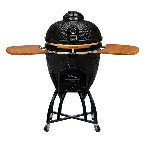C Series Kamado Charcoal Grill with Smoker by Vision Grills