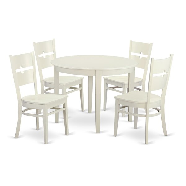 Toothman 5 Piece Dining Set by Winston Porter