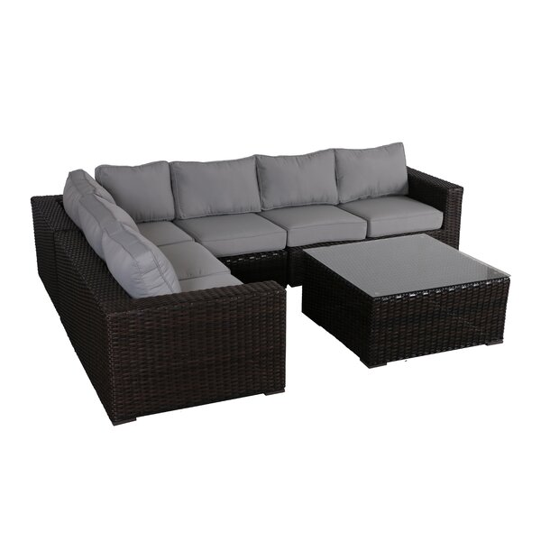 Woodham 5 Piece Sectional Set with Cushions