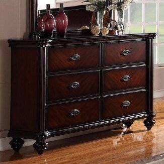 Farrer 6 Drawer Double Dresser by Astoria Grand