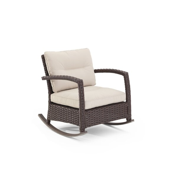 Fenley Rocking Chair with Cushions by Darby Home Co