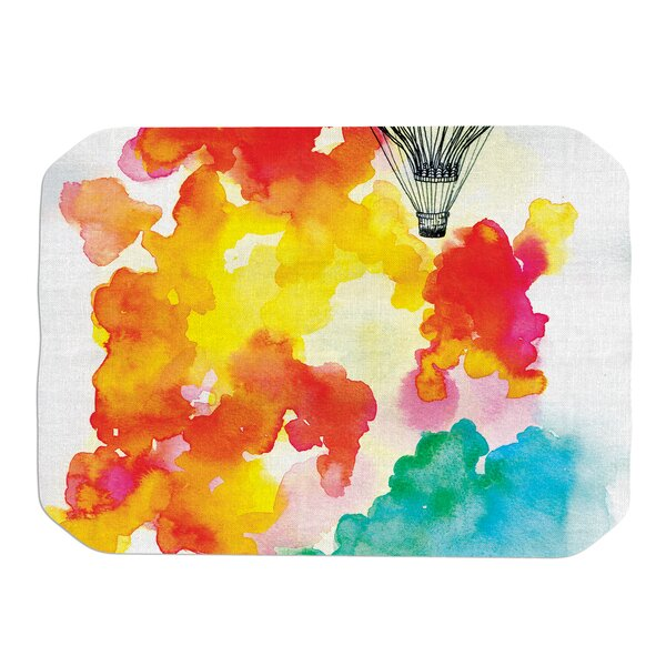 Sonal Nathwani Come Away with Me Placemat by East Urban Home