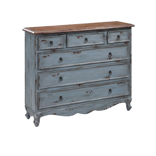 Toney 6 Drawer Accent Chest by One Allium Way