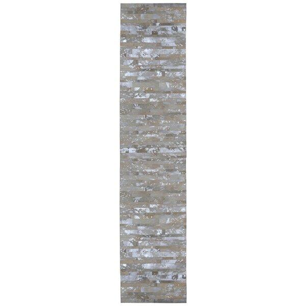 Sandford Hand Woven Gray Area Rug by Brayden Studio