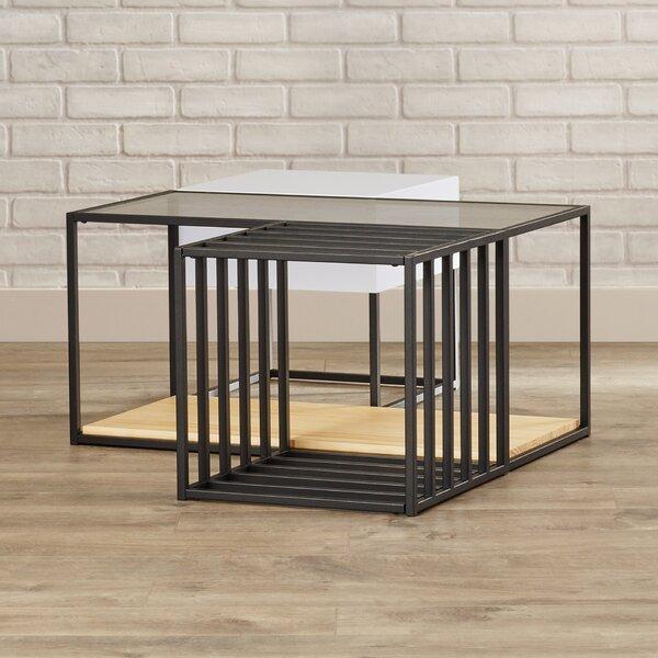 Cutlip 3 Piece Coffee Table Set By Mercury Row