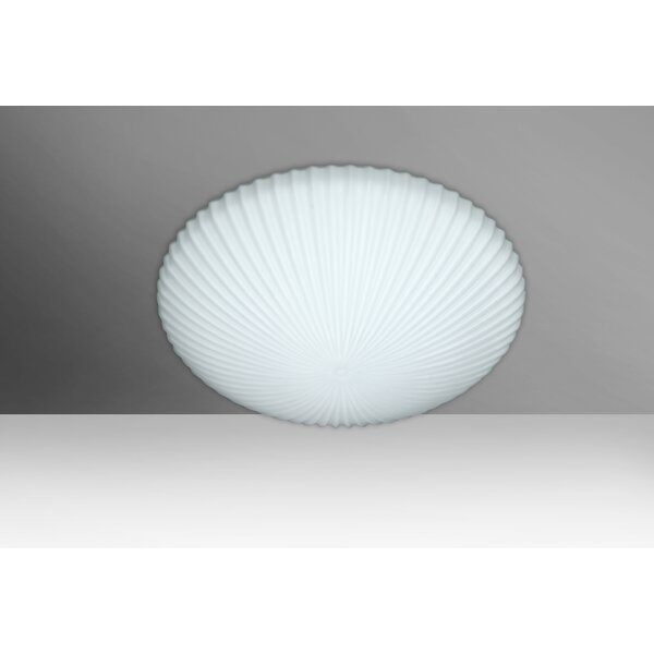 Katie 2-Light Outdoor Flush Mount by Besa Lighting