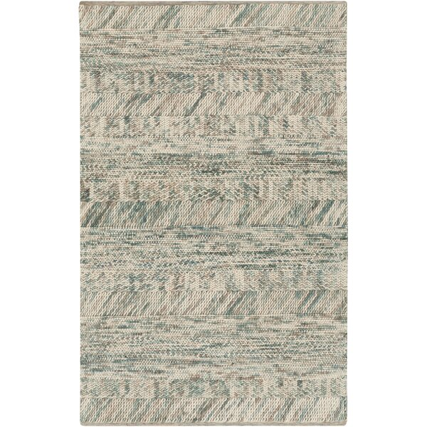 Shelton Sea Foam Teal Area Rug by Union Rustic