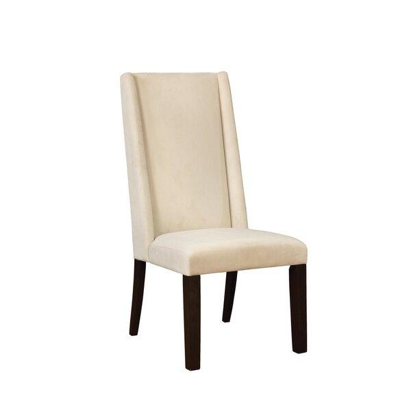 Nasser Demi Wing Back Upholstered Dining Chair (Set of 2) by Red Barrel Studio
