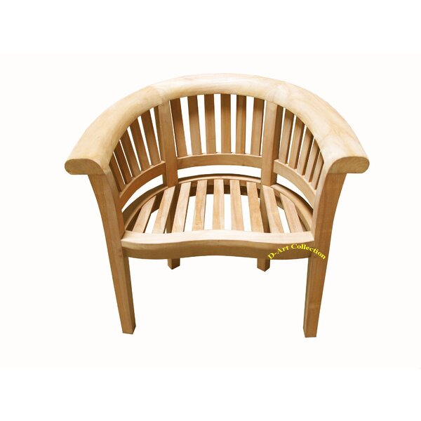Wunder Teak Patio Chair by Highland Dunes Highland Dunes