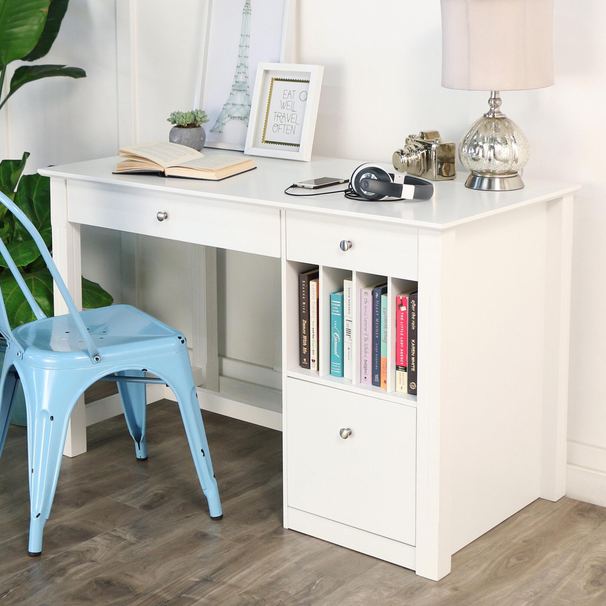 Beachcrest Home Weldon Desk & Reviews   Wayfair