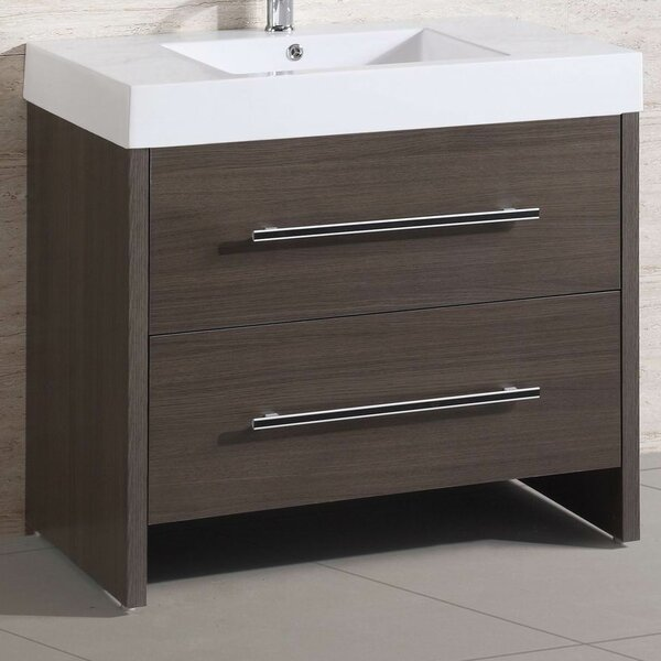 "36"" Single Modern Bathroom Vanity Set by Belvedere Bath"