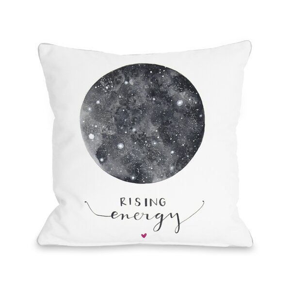 Rising Energy Throw Pillow by One Bella Casa