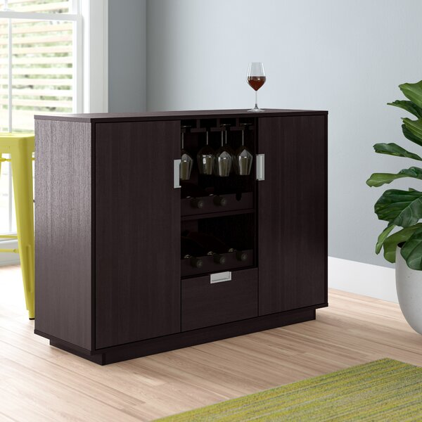 Attica Bar With Wine Storage By Zipcode Design